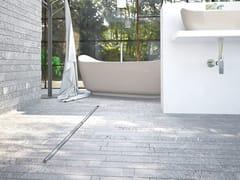 OMP, SUMISURA Canalina per doccia filo pavimento