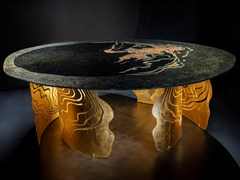 Tavolo in acciaio inox e vetroSUMMA APOGEO - TECNOTELAI