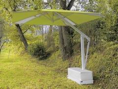 Ombrellificio Poggesi, SUMMER Ombrellone orientabile in alluminio con palo laterale