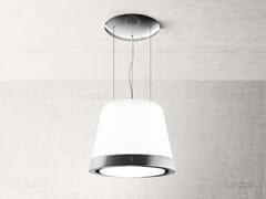 Cappa ad isola in vetro con illuminazione integrataSUMMILUX - ELICA