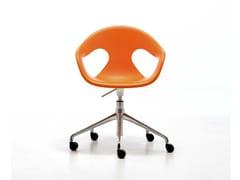 SUNNY PLASTIC HO | Sedia ufficio operativa ad altezza regolabile