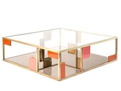 Tavolino quadrato in ottoneSUNSET   Tavolino - MARIONI