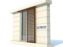 Frangisole in alluminio SUNSHADE SYSTEMS - TECHNOWOOD
