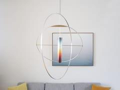 Lampada a sospensione a LED fatta a manoSUNset - STUDIO LIEVEN