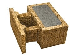 Legnobloc, SB 50 Blocco cassero in legno-cemento