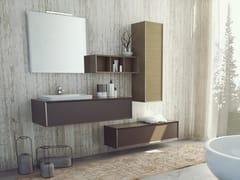 Mobile lavabo sospeso in legnoSUPER NATURAL SN02 - ARTEBA