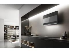 Cappa in vetro a parete con controlli touch classe ASUPER PLAT - ELICA