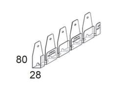Profilo flessibile per superfici curveSUPERFLEX - CIPRIANI PROFILATI