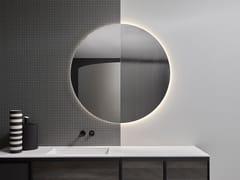 Antonio Lupi Design, SUPERLUNA Specchio rotondo da parete per bagno