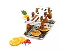 Accessorio per barbecue in acciaioSUPPORTO PER ALETTE E COSCE - BROIL KING ITALIA • MAGI&CO