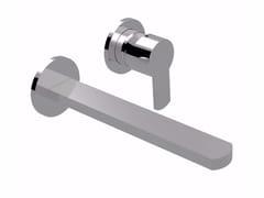 Miscelatore per lavabo a 2 fori a muro monocomando SURF - F5820 - Surf