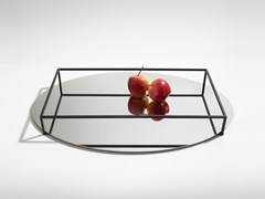 Vassoio / portafrutta in metalloSURFACE + BORDER NO. 2 - DANESE MILANO