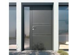 Porta d'ingresso in alluminioSURFACE – pannello unico 85 mm - LIEBOT ITALIA