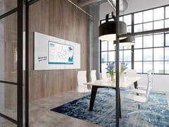 Lavagna per ufficio magnetica a pareteSURROUND - SMIT VISUAL