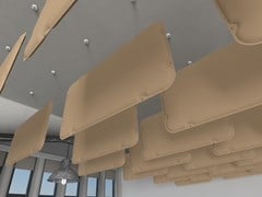 Baffle acustici in PETSUSPENDED BAFFLE VMT 3D - VICOUSTIC