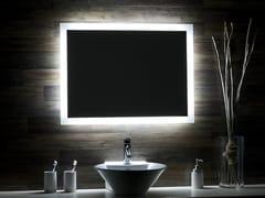 Glassolutions, SWALLOW Specchio con illuminazione integrata