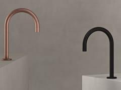 Rubinetto per lavabo a infrarossi in ottone cromatoSWAN - THE WATERMARK COLLECTION