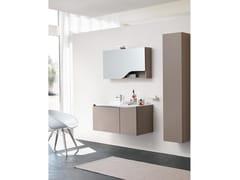 Mobile lavabo sospeso con specchioSWING 05 - BMT