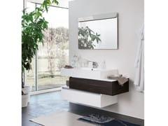 Mobile lavabo sospeso con specchioSWING 20 - BMT