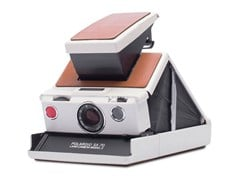 Fotocamera istantanea SX-70™ CAMERA WHITE-BROWN - POLAROID ORIGINALS®