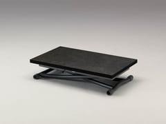 Tavolino ad altezza regolabile in ceramica SYDNEY CR -