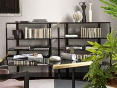 Libreria in alluminio e legnoSYIL - GALLOTTI&RADICE