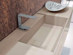 Lavabo da incasso sottopiano rettangolare in Tekhnos SYN | Lavabo da incasso sottopiano - Syn