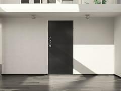 DIERRE, SYNERGY-IN BI-ELETTRA DETECTOR Porta d'ingresso acustica blindata in metallo con serratura elettronica