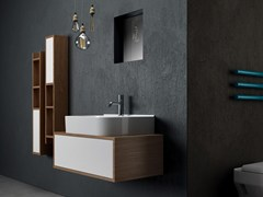 Mobile bagno a colonna in legno SYNTHESIS | Mobile bagno - Synthesis