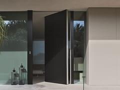 Porta blindata a bilico con rivestimento in Corian®SYNUA | Porta d'ingresso in Corian® - OIKOS VENEZIA