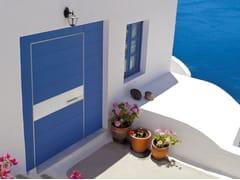 Porta d'ingresso a bilico blindata in gres porcellanatoSYNUA | Porta d'ingresso in gres porcellanato - OIKOS VENEZIA