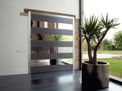 Porta d'ingresso a bilico blindataSYNUA | Porta d'ingresso in vetro a specchio - OIKOS VENEZIA