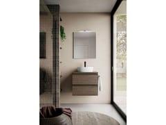Mobili bagno con specchioSYSTEM 03 - BLOB
