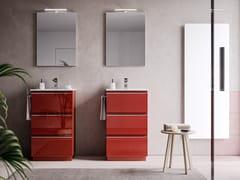 Mobile lavabo da terra con cassettiSYSTEM 10 - IDEAGROUP