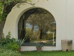 Ercole, Vetrata di sicurezza Ampie vetrate di sicurezza ad arco