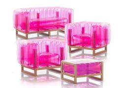 Lounge set da giardinoYOMI WOOD ET TABLE BASSE   Lounge set da giardino - MOJOW