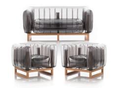 Lounge set da giardinoYOMI EKO WOOD   Lounge set da giardino - MOJOW