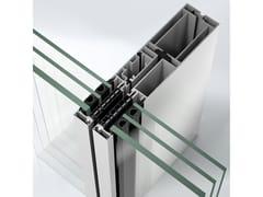 Sistema per facciata continua in alluminioSchüco AF UDC 80 CV - SCHÜCO INTERNATIONAL ITALIA