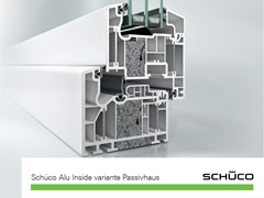 Schüco PWS Italia, Schüco Alu Inside Finestra in PVC