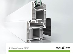 Schüco PWS Italia, Schüco Corona PASK Sistemi per scorrevoli in PVC