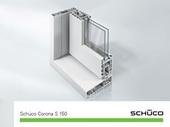 Schüco PWS Italia, Schüco Corona S 150 Porta per balconi, terrazzi e verande