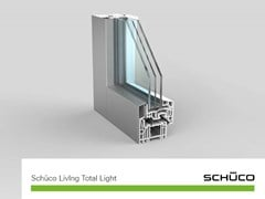 Schüco PWS Italia, Schüco Living MD Total Light Finestra in PVC