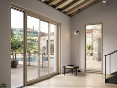 Finestra in alluminio e legnoSchüco SmartWood - SCHÜCO INTERNATIONAL ITALIA