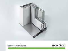 Schüco PWS Italia, Schüco ThermoSlide Alzante scorrevole in PVC ad alto isolamento termico