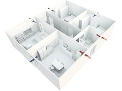 Impianto di ventilazione meccanica forzataSerie IR-ECOAIR - IRSAP