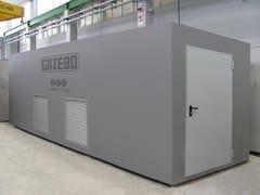 Gazebo, Vani servizi - Locali tecnici Vani servizi e locali tecnici
