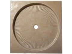 Piatto doccia antiscivolo quadrato in pietra naturalePiatto doccia - NATURALMENTE PUGLIA