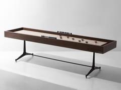 Tavolo da gioco rettangolare in legnoTavolo da Shuffleboard - DISTRICT EIGHT DESIGN CO.