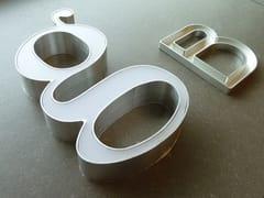 YDF, INSEGNA LUMINOSA IN ALLUMINIO Manufatto artigianale in ferro