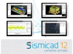 Software integrato Computo CADSismicad Cemento Armato - CONCRETE